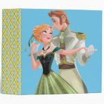 Frozen   Anna and Hans 3 Ring Binder