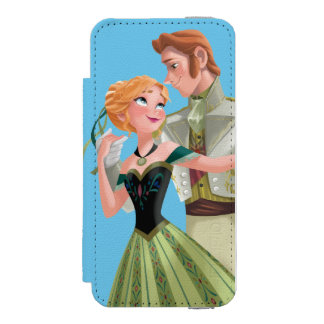 Frozen | Anna and Hans Wallet Case For iPhone SE/5/5s