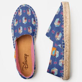 Frozen   Anna & Elsa Crystal Drop Pattern Espadrilles