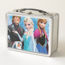 Frozen | Anna, Elsa, Kristoff and Ola Metal Lunch Box