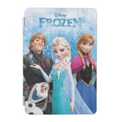 iPad mini Cover with Frozen's Anna, Elsa, Kristoff & Olaf design