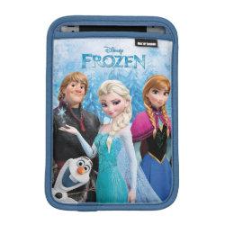 iPad Mini Sleeve with Frozen's Anna, Elsa, Kristoff & Olaf design