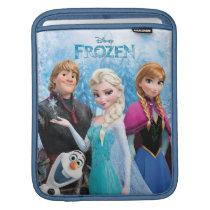 Frozen   Anna, Elsa, Kristoff and Olaf iPad Sleeve
