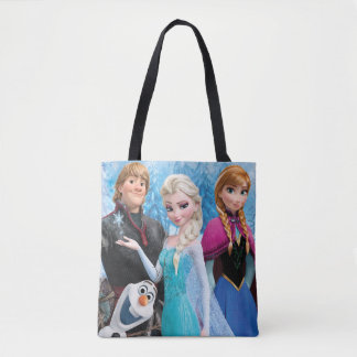 Frozen | Anna, Elsa, Kristoff and Olaf Tote Bag