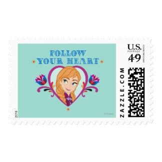 Frozen, Anna Follow Your Heart Postage