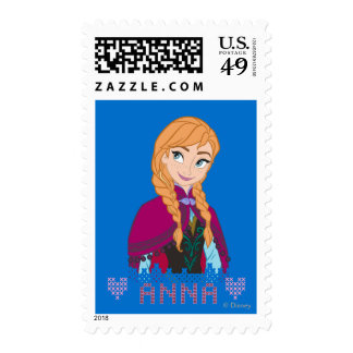 Frozen, Anna Stamps