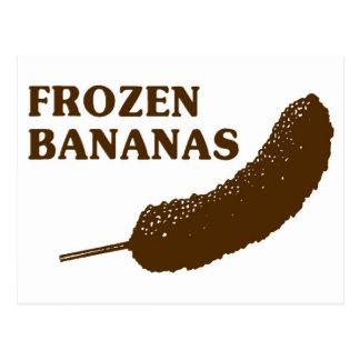 Frozen Bananas Postcard