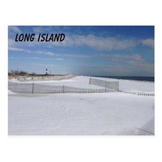 Frozen Beach Postcard