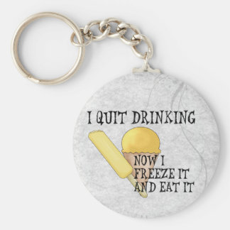 Frozen Beer Keychain