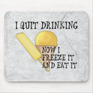 Frozen Beer Mouse Pad