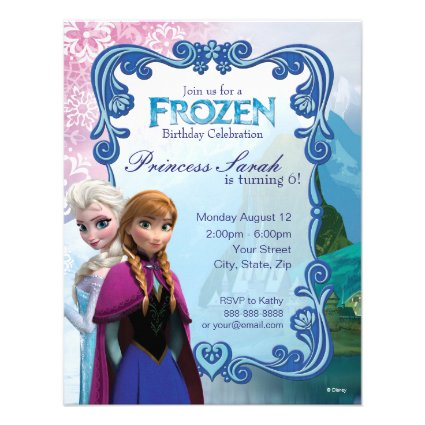 Frozen Birthday Invitation Personalized Invitations