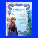 "Frozen Birthday Invitation 4.25"" X 5.5"" Invitation Card"