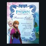 "Frozen Birthday Party Invitation<br><div class=""desc"">Customize this Disney Frozen invite,  perfect for any occasion!</div>"