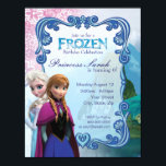 "Frozen Birthday Party Invitation<br><div class=""desc"">Customize this Disney Frozen invite,  perfect for any occasion!</div>"