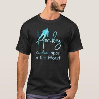 Frozen blue - Coolest sport hockey fan T-Shirt