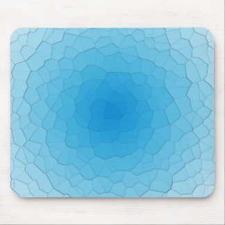 Frozen Blue Ice Mouse Pad
