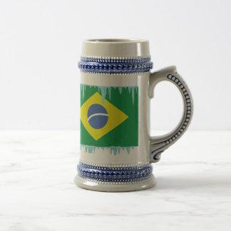 Frozen Brazil Beer Stein