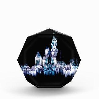 Frozen Castle - Snowflakes Acrylic Award