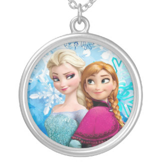 frozen chain silver plated necklace