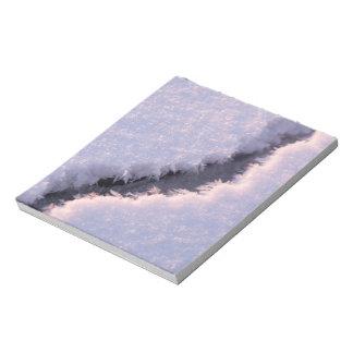 Frozen chasm notepad