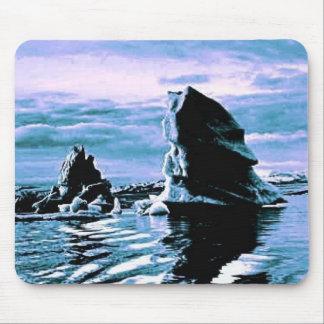 Frozen Coast Mouse Pad