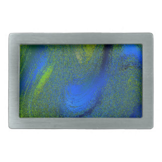 frozen colors blue rectangular belt buckles