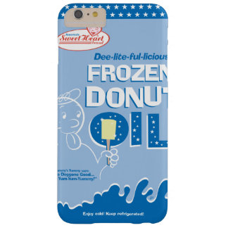 Frozen Donut Oil Barely There iPhone 6 Plus Case