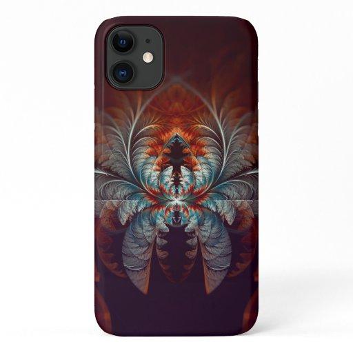 Frozen Dream Abstract Fractal Art iPhone 11 Case