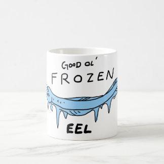 frozen eel coffee mug