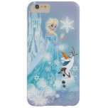 Frozen   Elsa and Olaf - Icy Glow Barely There iPhone 6 Plus Case