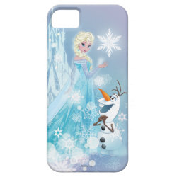 Case-Mate Vibe iPhone 5 Case with Snow Queen Elsa and Olaf design