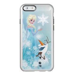 Frozen | Elsa and Olaf - Icy Glow Incipio Feather Shine iPhone 6 Case