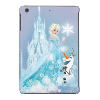 Frozen | Elsa and Olaf - Icy Glow iPad Mini Cases