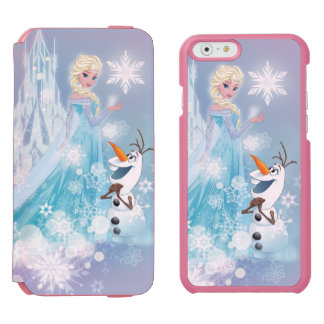 Frozen | Elsa and Olaf - Icy Glow iPhone 6/6s Wallet Case