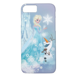 Case-Mate Barely There iPhone 7 Case with Snow Queen Elsa and Olaf design