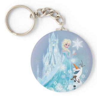 Frozen | Elsa and Olaf - Icy Glow Keychain