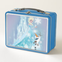 Frozen | Elsa and Olaf - Icy Glow Metal Lunch Box
