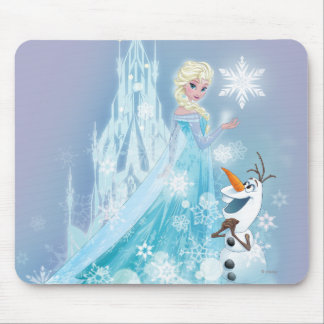 Frozen | Elsa and Olaf - Icy Glow Mouse Pad