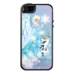 Frozen | Elsa and Olaf - Icy Glow OtterBox iPhone 5/5s/SE Case