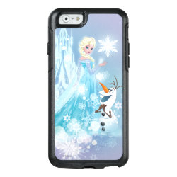 Frozen | Elsa and Olaf - Icy Glow OtterBox iPhone 6/6s Case