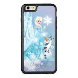 OtterBox Symmetry iPhone 6/6s Plus Case with Snow Queen Elsa and Olaf design