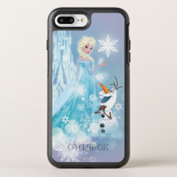 Frozen | Elsa and Olaf - Icy Glow OtterBox Symmetry iPhone 8 Plus/7 Plus Case