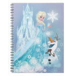 Frozen | Elsa and Olaf - Icy Glow Spiral Notebook