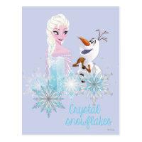 Frozen | Elsa and Olaf Postcard