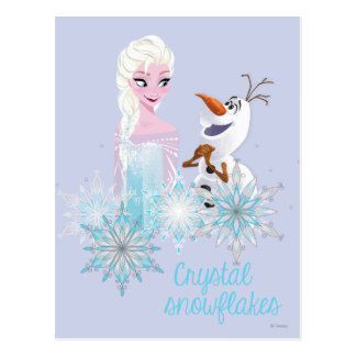 Frozen | Elsa and Olaf Postcard