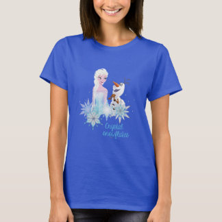 Frozen   Elsa and Olaf T-Shirt