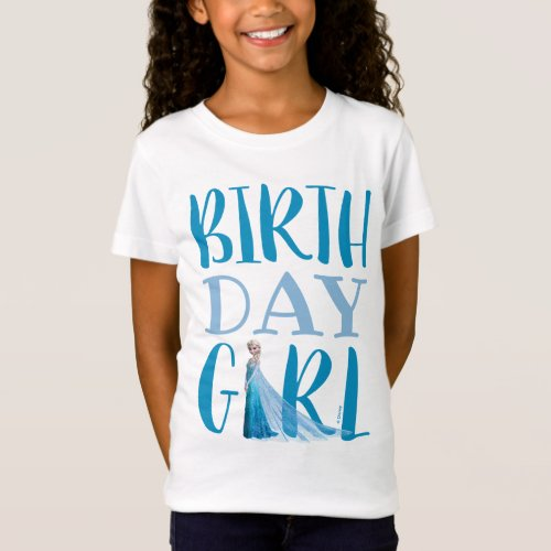 Frozen Elsa  Birthday Girl T_Shirt