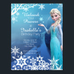 "Frozen Elsa Birthday Party Invitation<br><div class=""desc"">Customize this Disney Frozen Birthday Party Invitation,  perfect for any occasion!</div>"