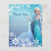 Frozen Elsa Birthday Party Thank You