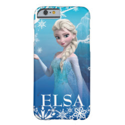 Case-Mate Barely There iPhone 6 Case with Frozen's Princess Elsa of Arendelle design